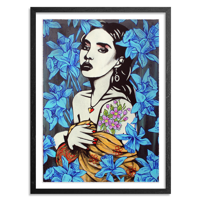 Copyright Art Print - Spring - Blue Edition