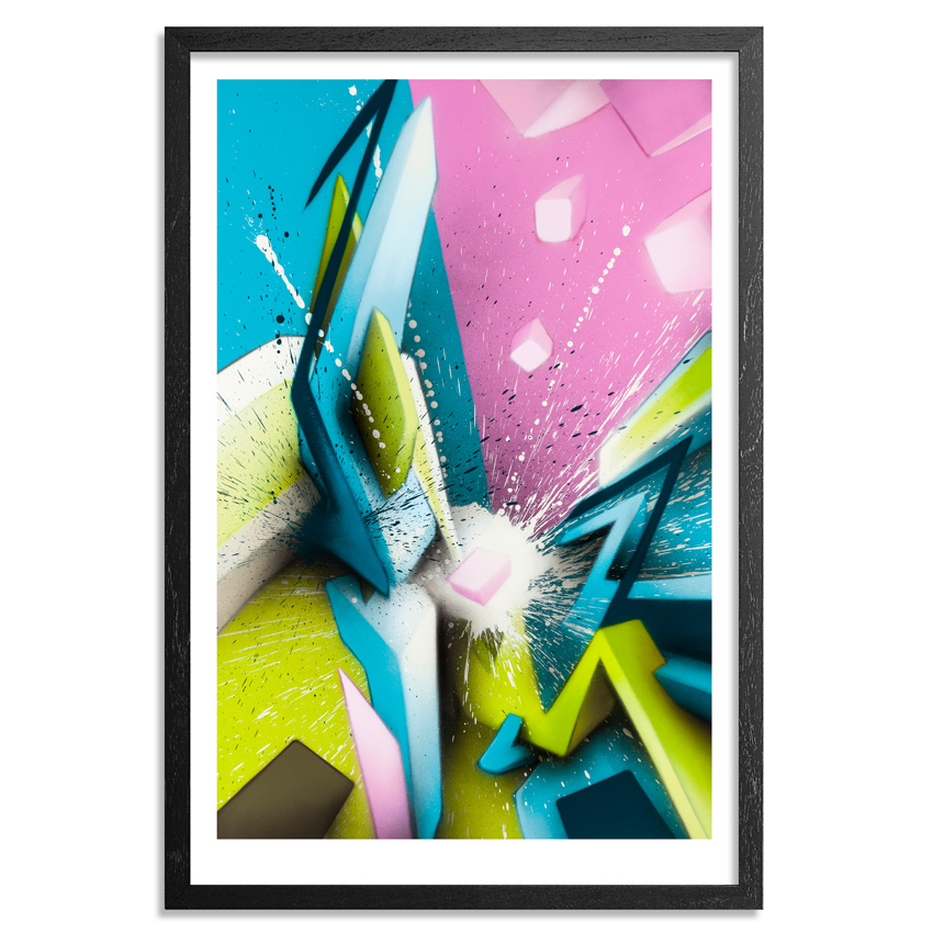 Daim Art Print - Eruption