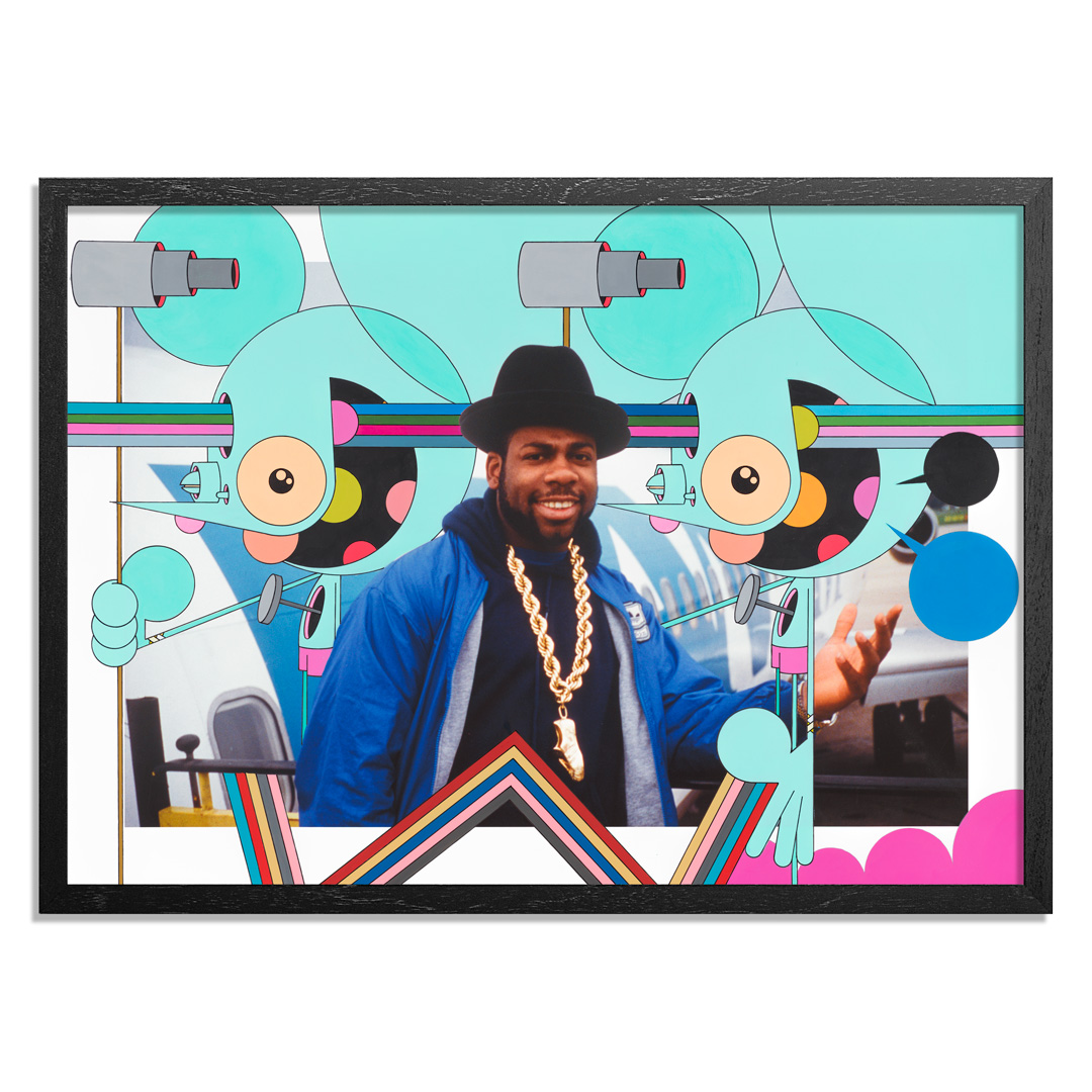 Dalek Art Print - Jam Master Jay - Together Forever Tour. Germany. 1987 - Dalek Variant I