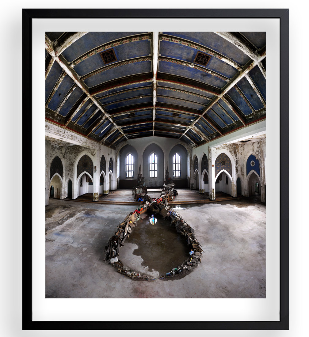 Revok + Jim Darling Art Print - Sunday Mass