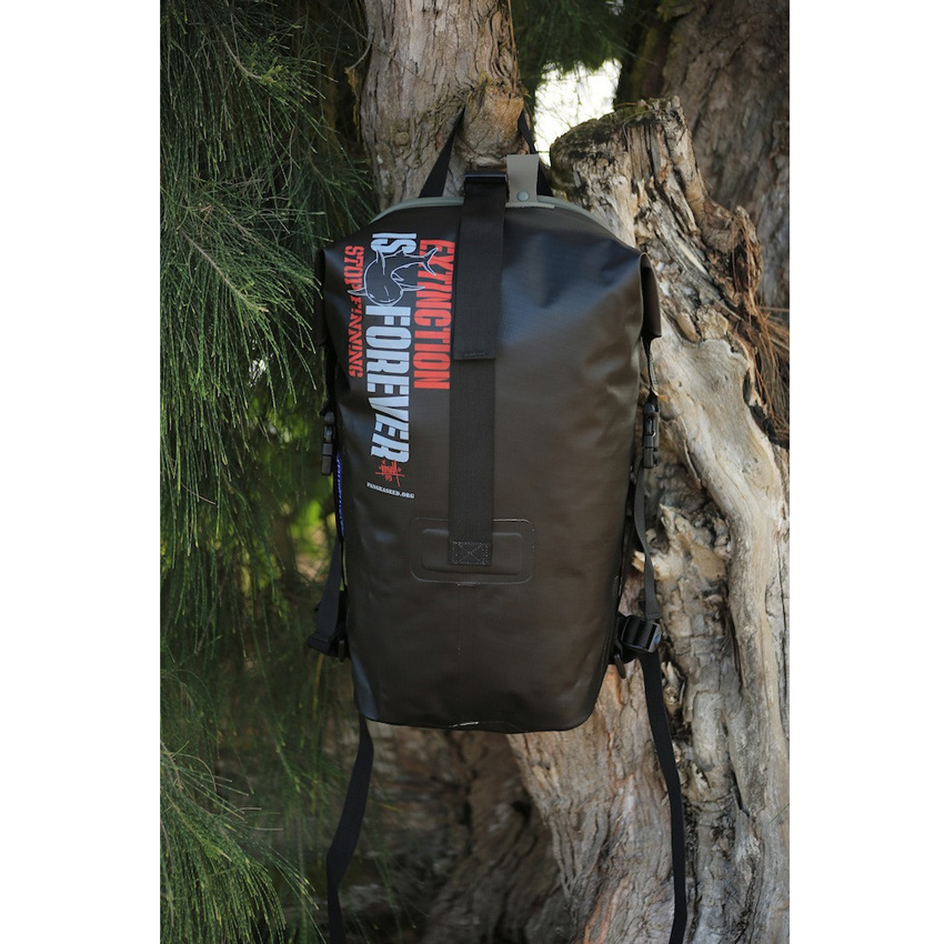 Dave Kinsey Art - Extinction is Forever - Waterproof Backpack