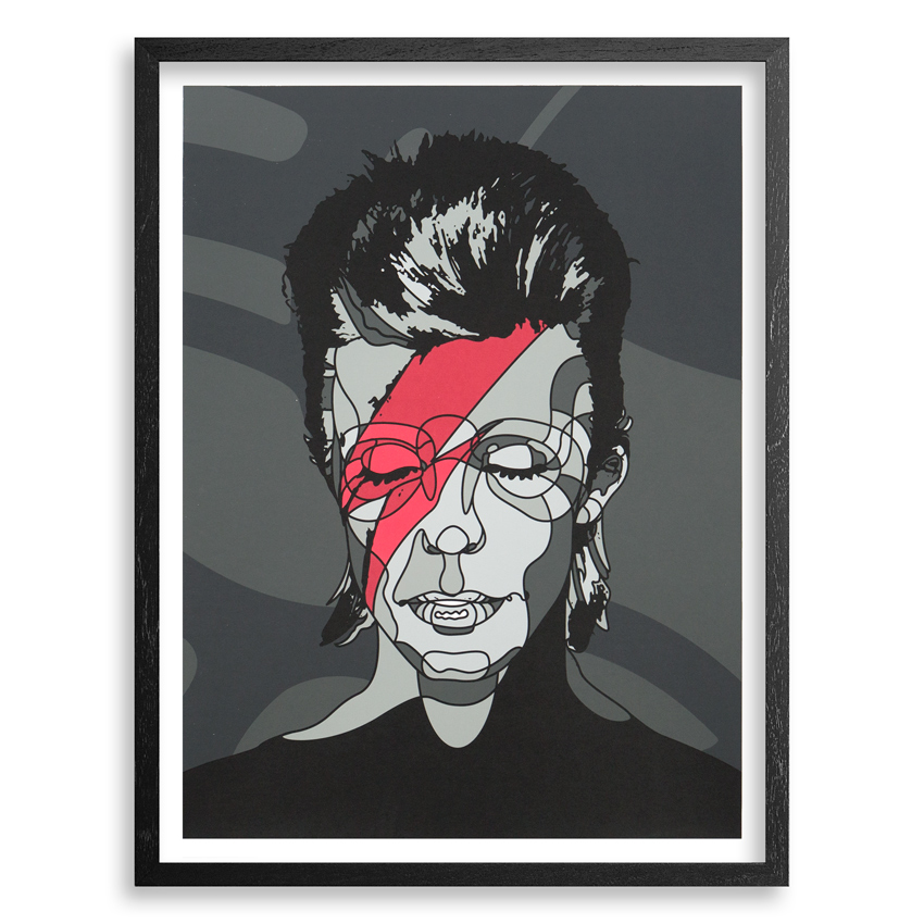 David Flores Art - Lazarus - Framed
