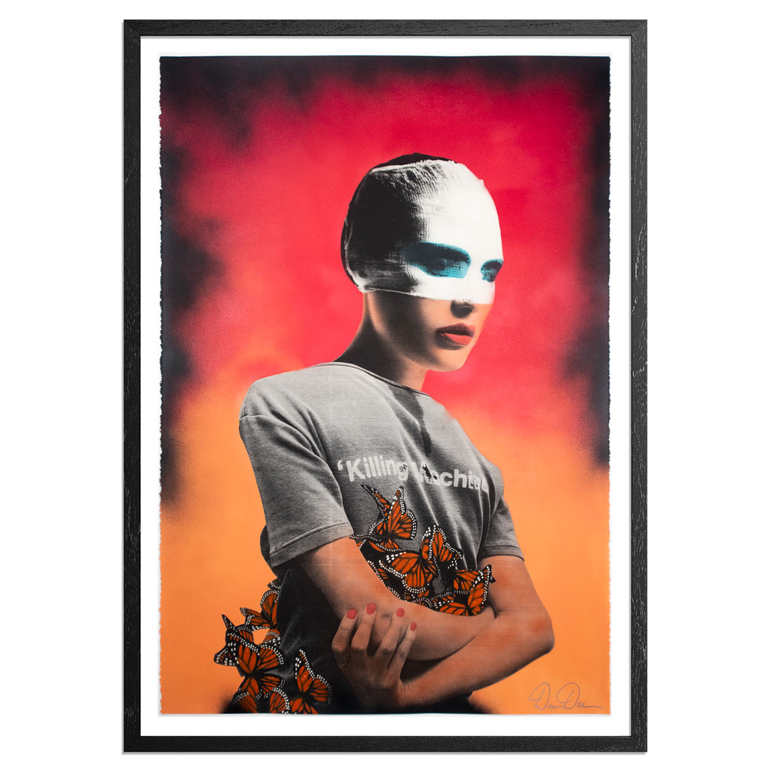 Dee Dee Art Print - Killing Machine - Magenta Dawn