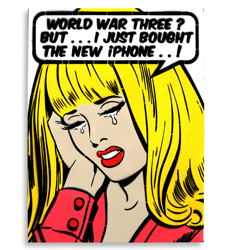 Ben Frost Art - World War Three? - Hand-Painted Multiples