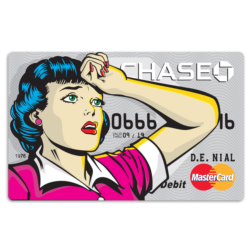 Denial Art - Chase 2016 - Credit Card