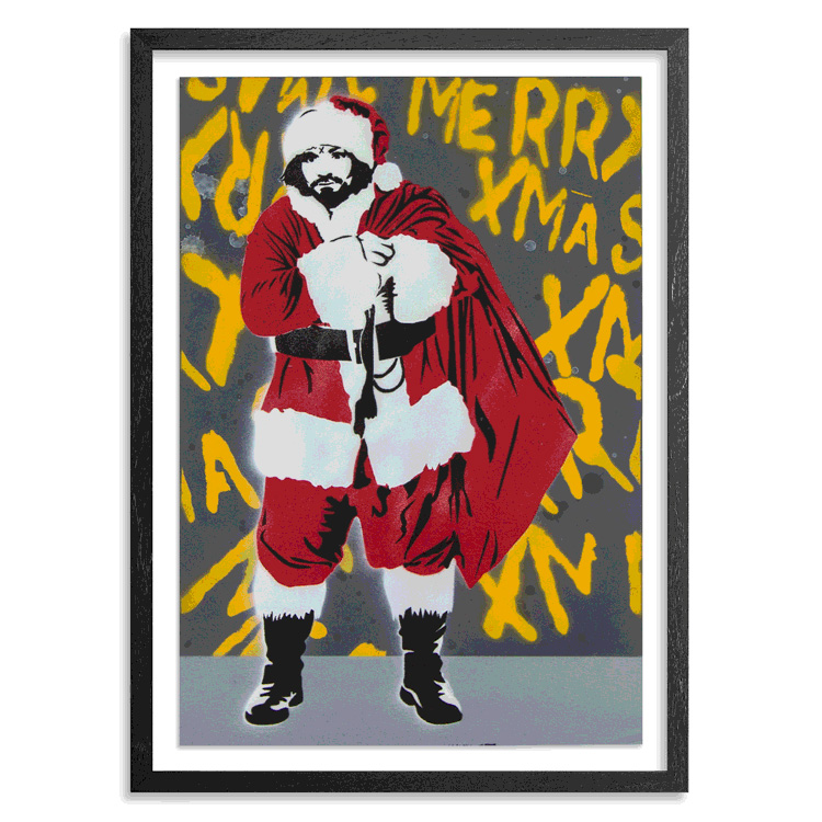 Denial Art - Manson Claus - Hand-Painted Multiples