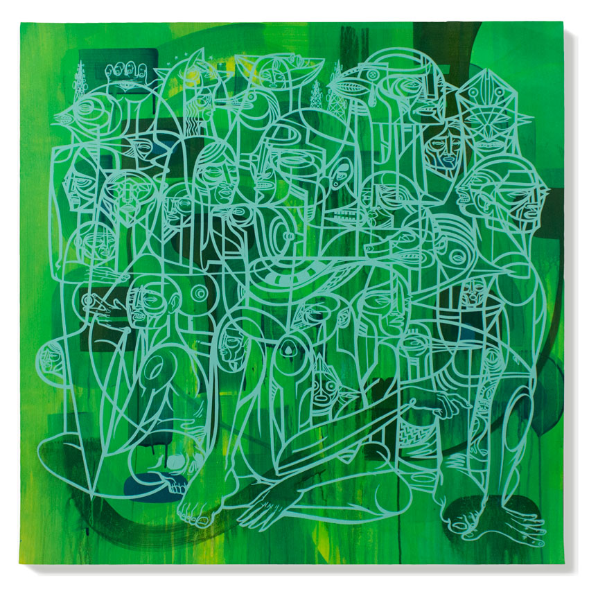 Doze Green Original Art - Provocateurs 1A