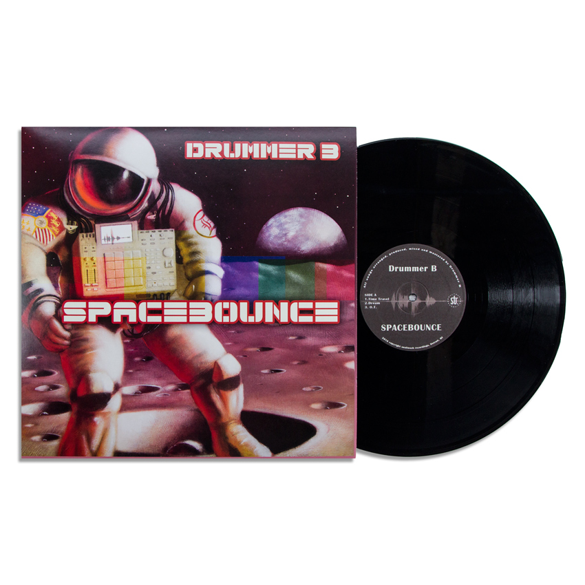 Drummer B & Ron Zakrin Art - Spacebounce - Vinyl Album