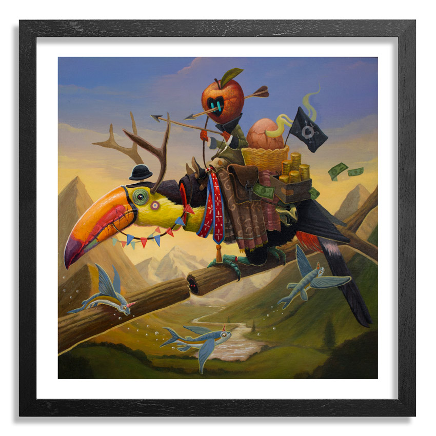 Dulk Art Print - Poacher