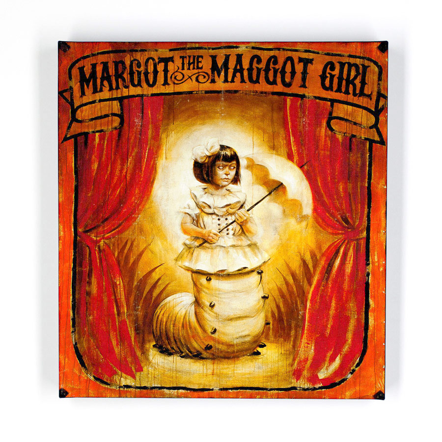 John Dunivant Art Print - Margot The Maggot Girl