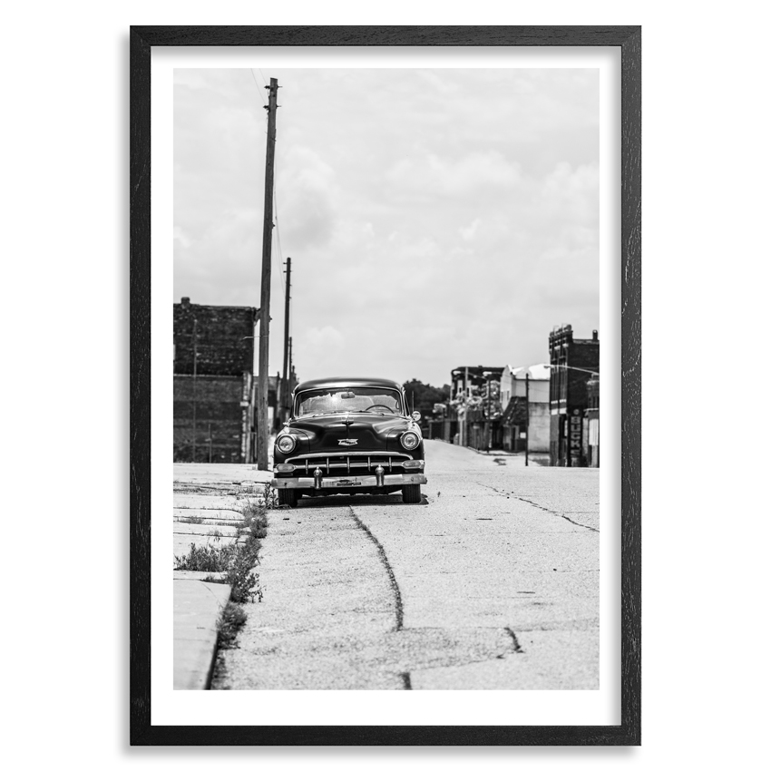 Dustin J. Buckley Art Print - The Route In Galena
