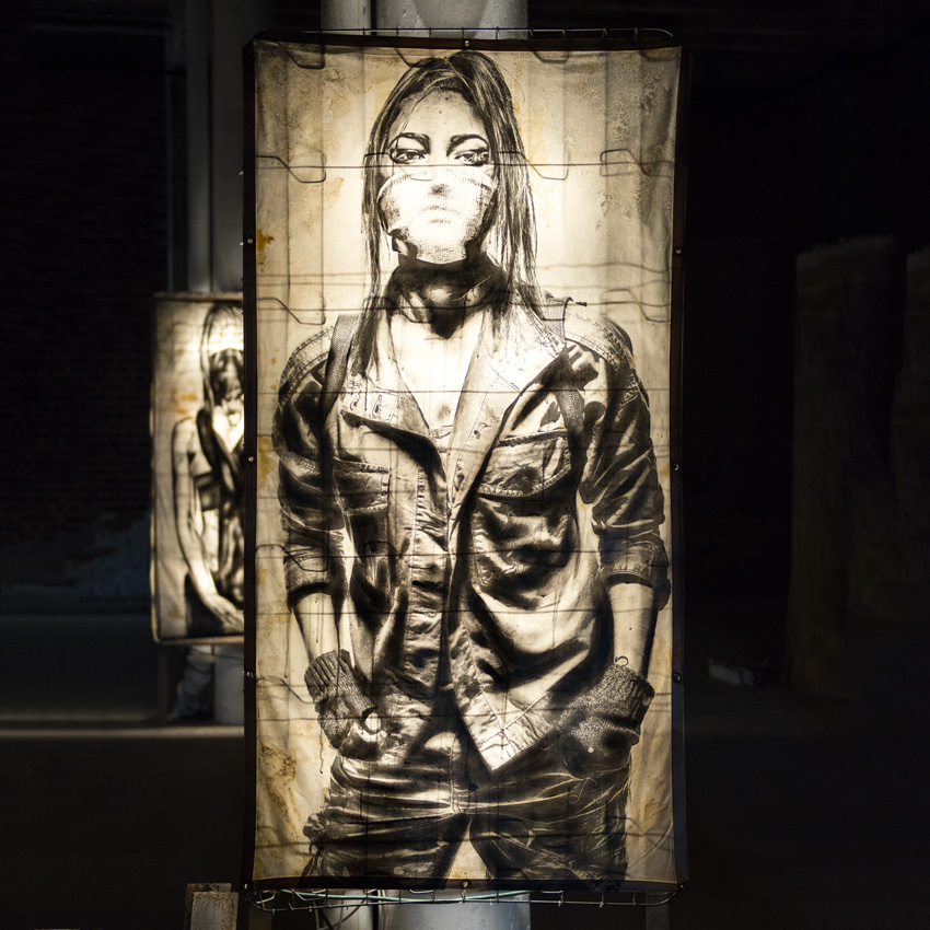 Eddie Colla Original Art - Sentry 1