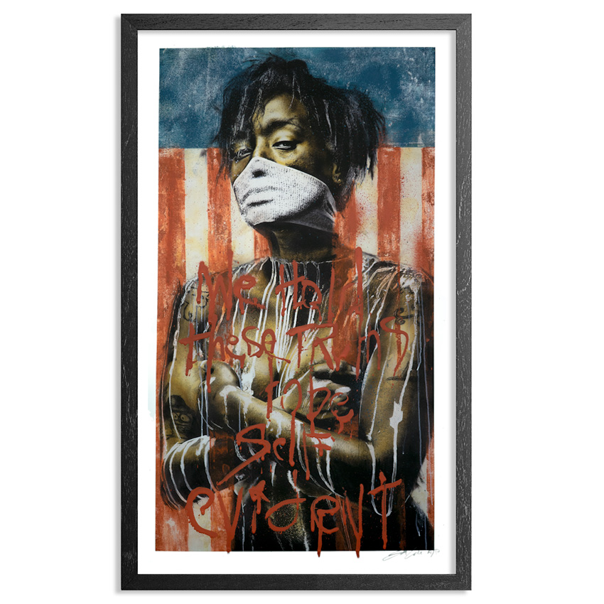 Eddie Colla Art Print - The Residue Of Arrogance - Hand-Embellished Edition