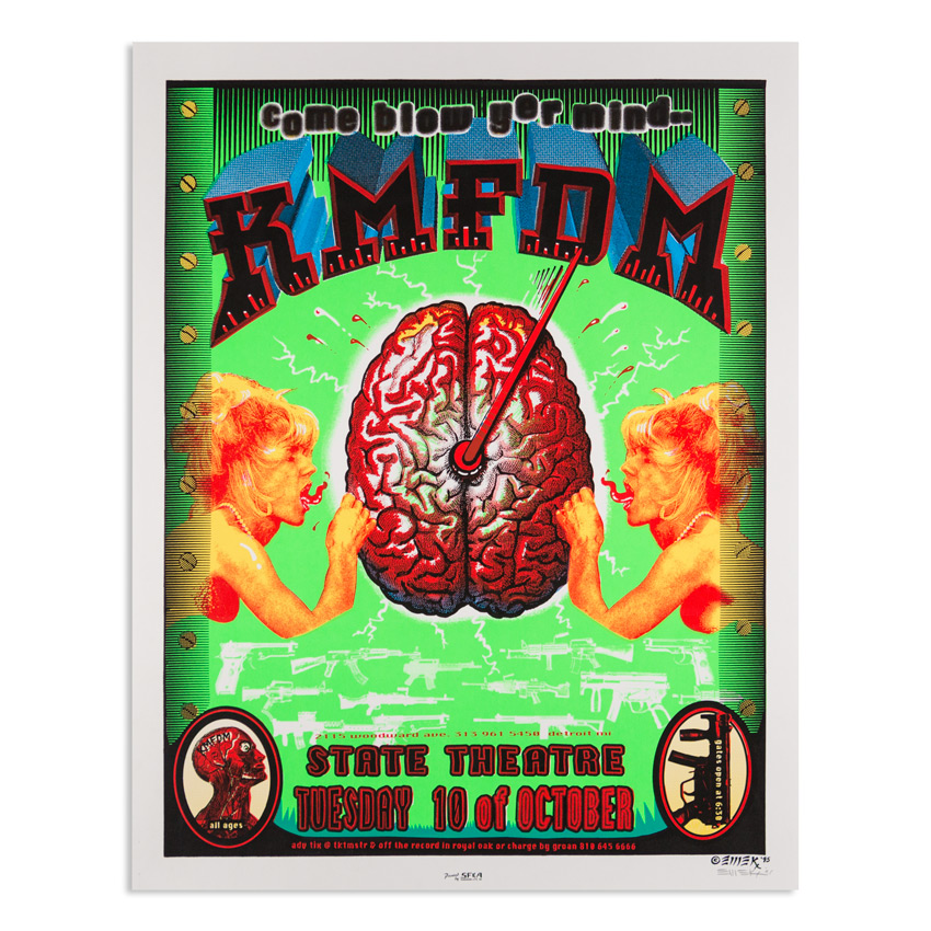 Emek Art - KMFDM - Oct. 10 at The State Theatre Detroit MI