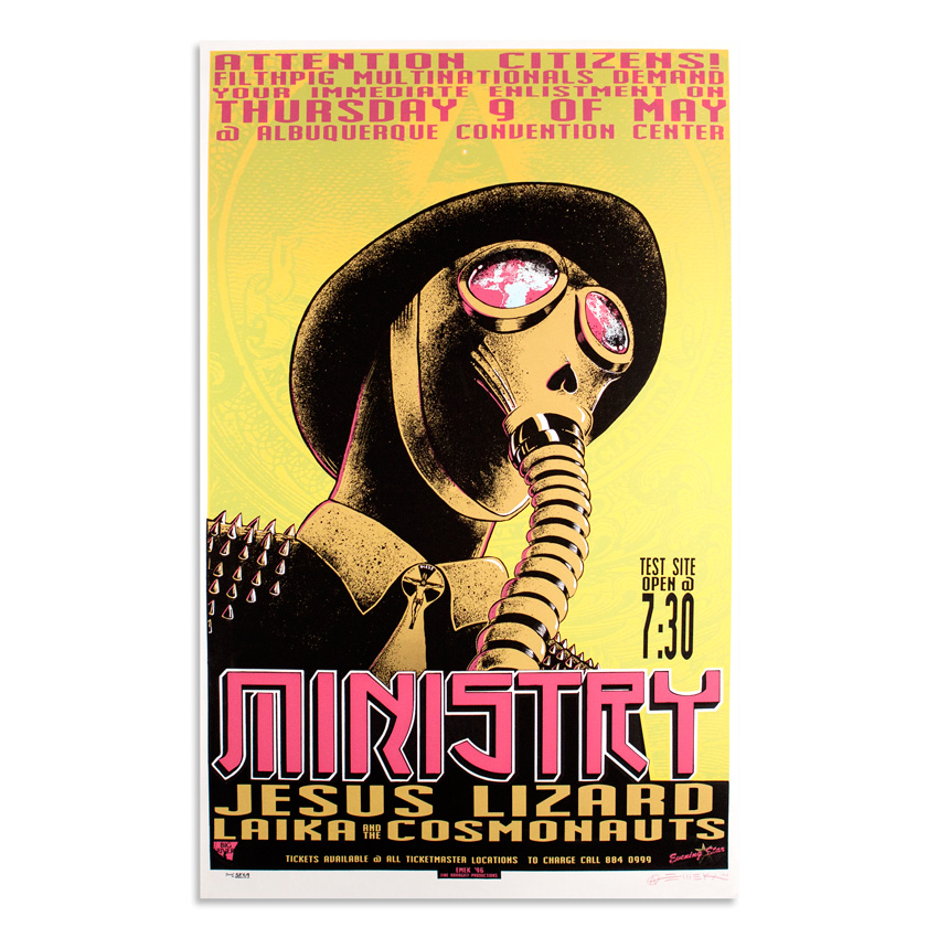 Emek Art - Ministry- May 9th, 1997 at Albuquerque Convention Center