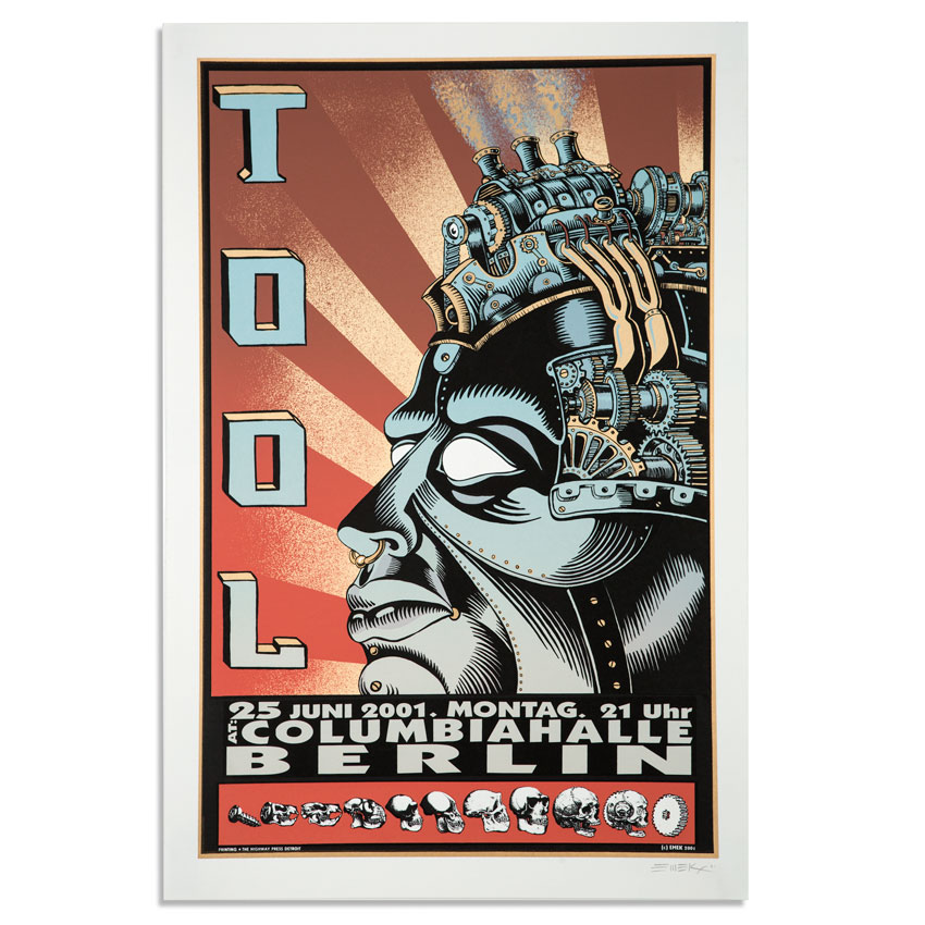 Emek Art - Tool - July 25, 2001 at Columbiahalle - Berlin, Germany