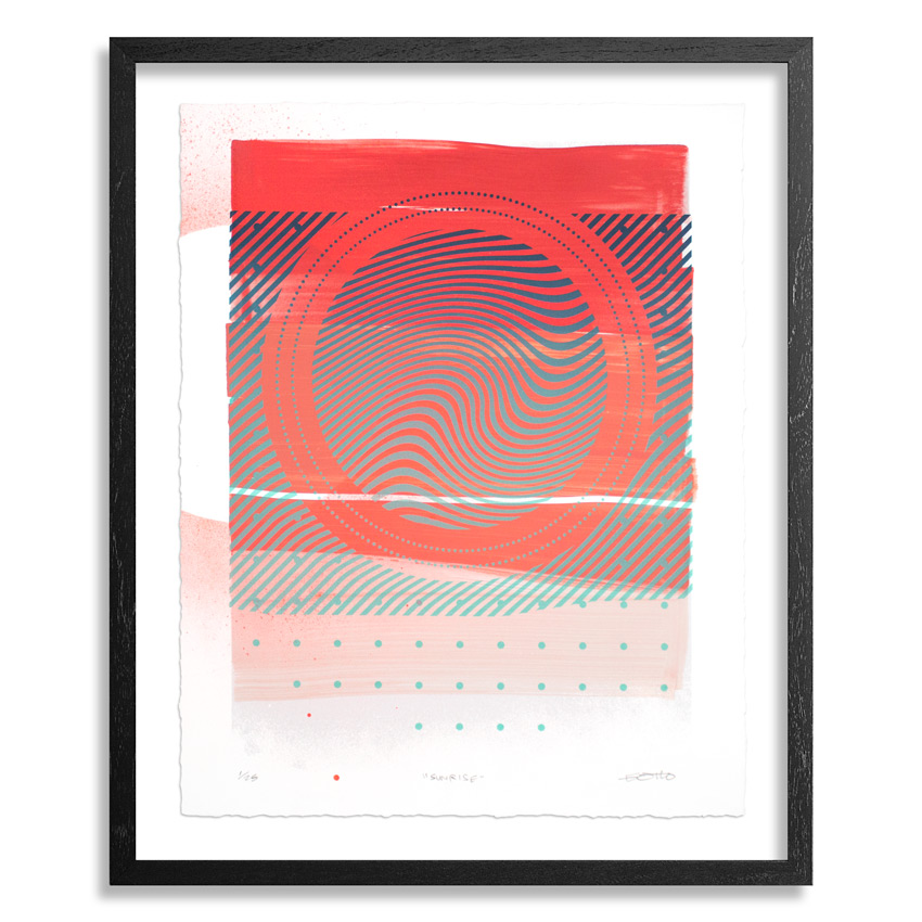 Erik Otto Art Print - Wavelengths - Sunrise Edition