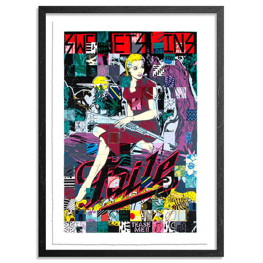 Faile Art Print - Sweet Sins Brooklyn