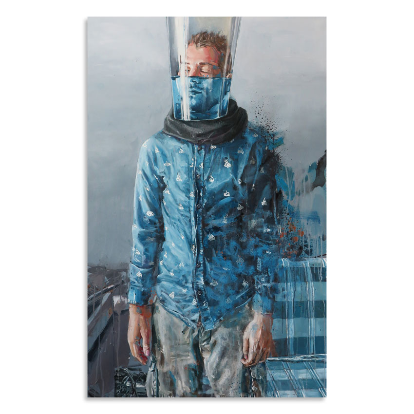 Fintan Magee Original Art - Waiting Game