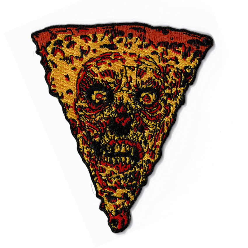 French Art - Embroidered Pizza Patch