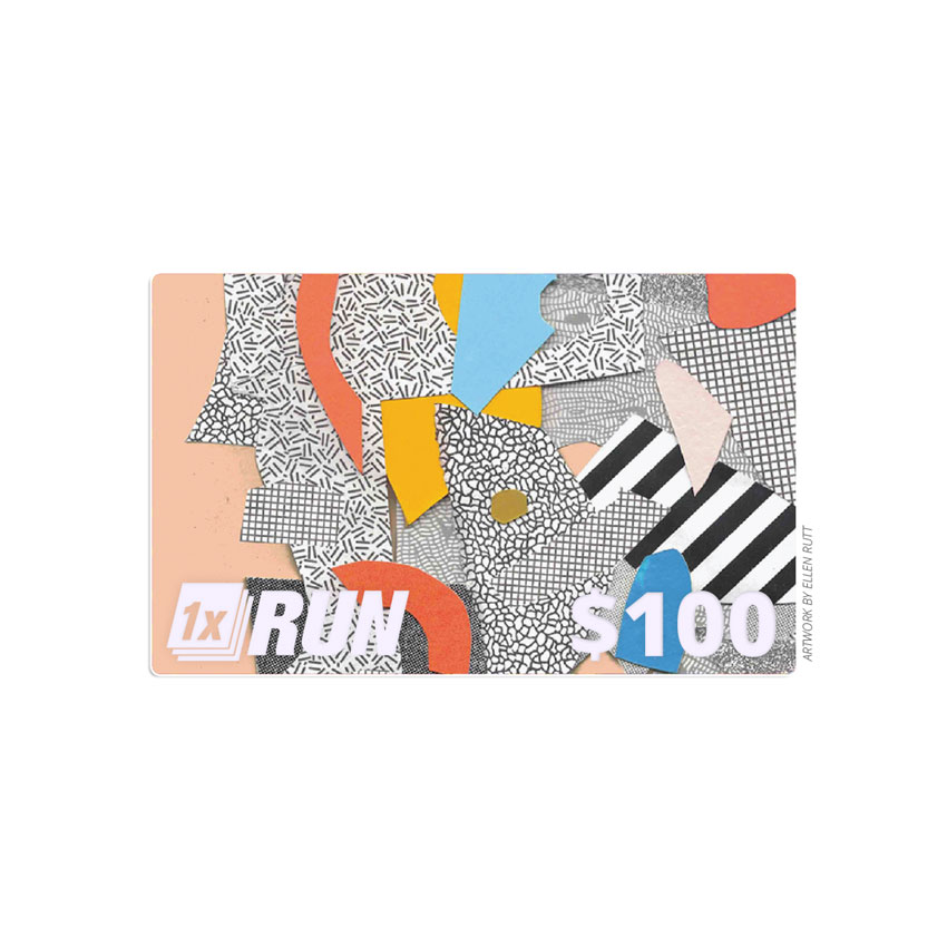 1xRUN Presents Art - $100 Gift Card