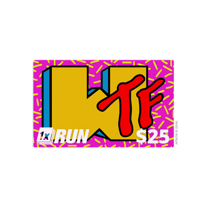 1xRUN Presents Art - $25 Gift Card
