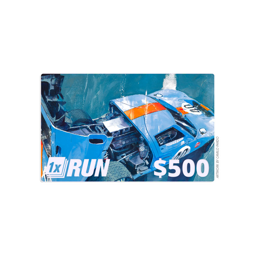 1xRUN Presents Art - $500 Gift Card