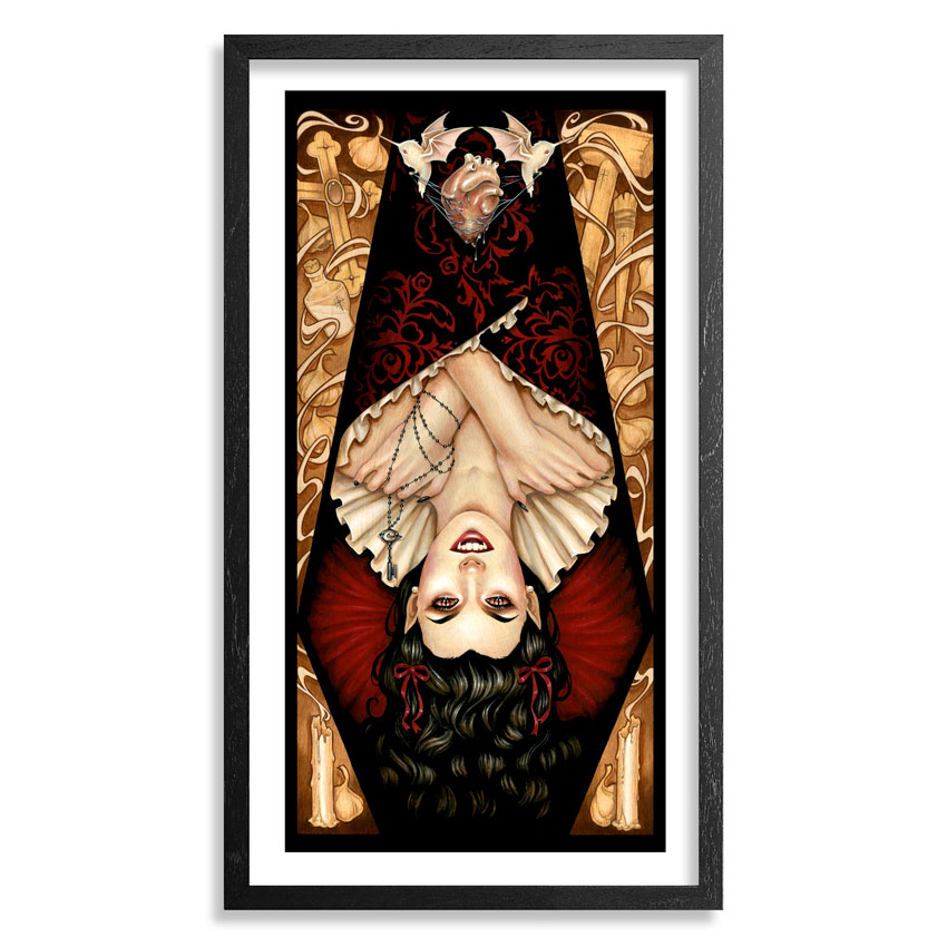 Glenn Arthur Art Print - All Heart, No Soul - Framed