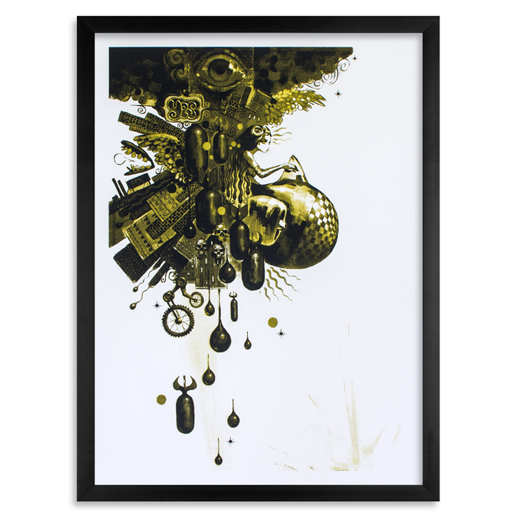 Glenn Barr Art Print - Muse of the World - Ochre Edition