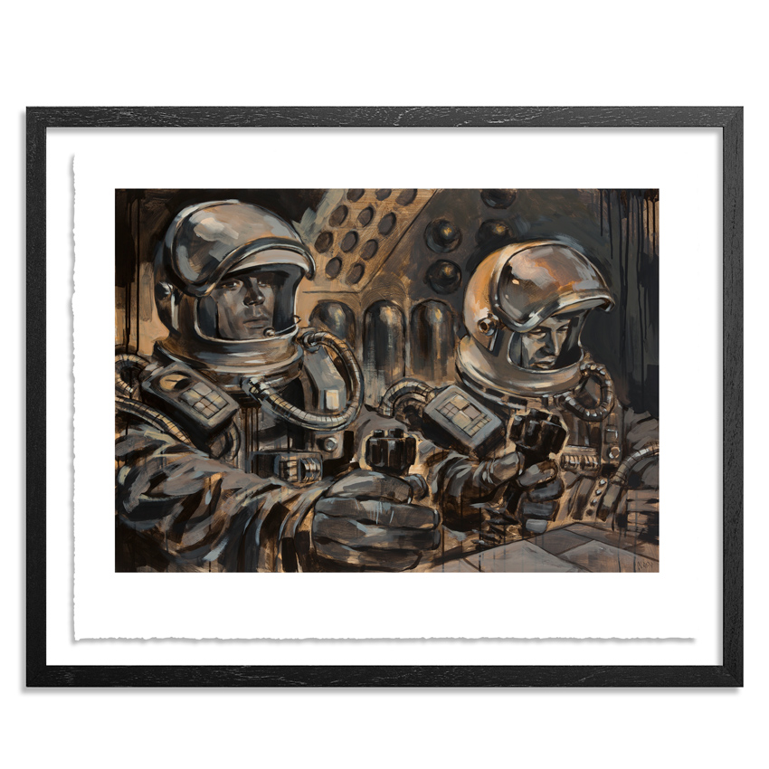 Glenn Barr Art Print - In The Shadow Of Orion - Hand-Embellished Edition