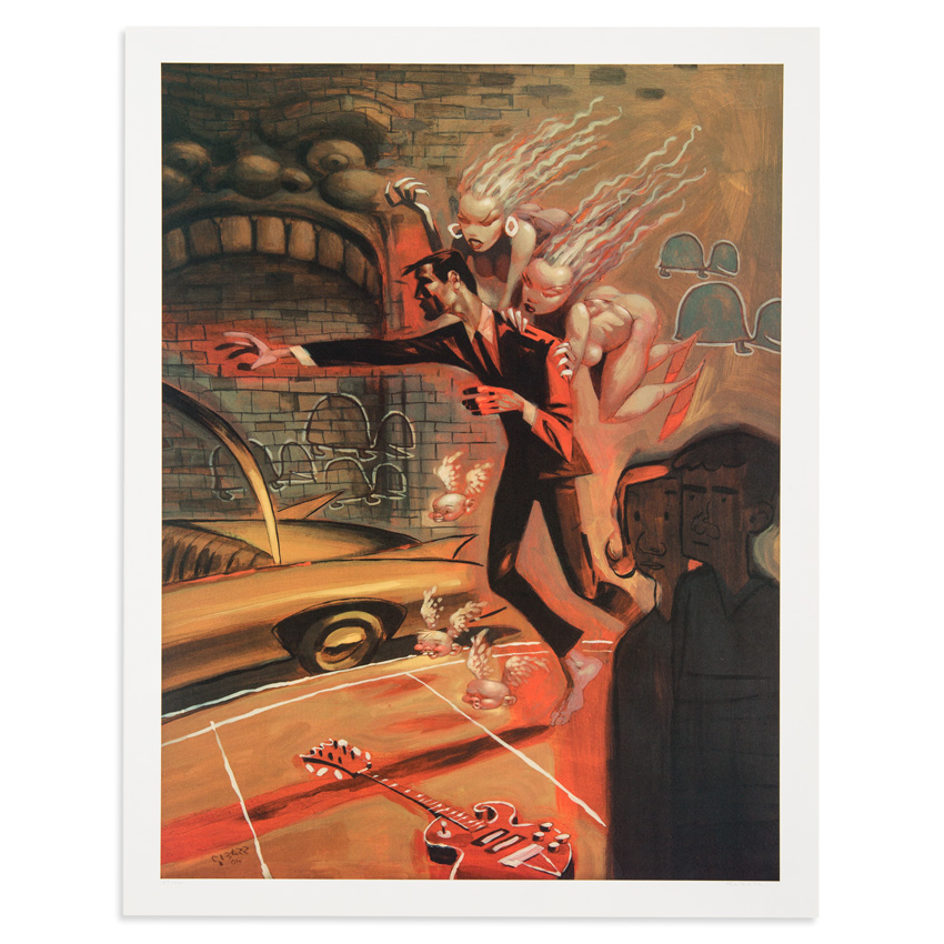 Glenn Barr Art Print - The Furies