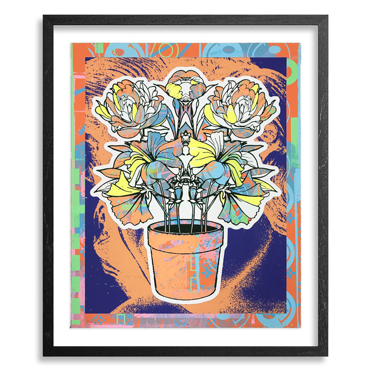 Greg Gossel Art - Bouquet - 08