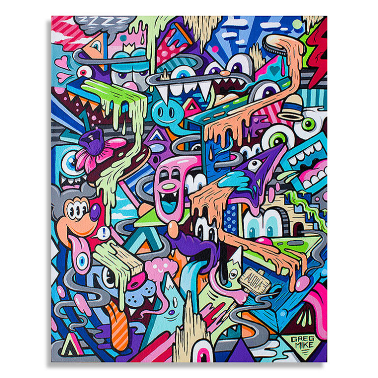 Greg Mike Original Art - Inside Out