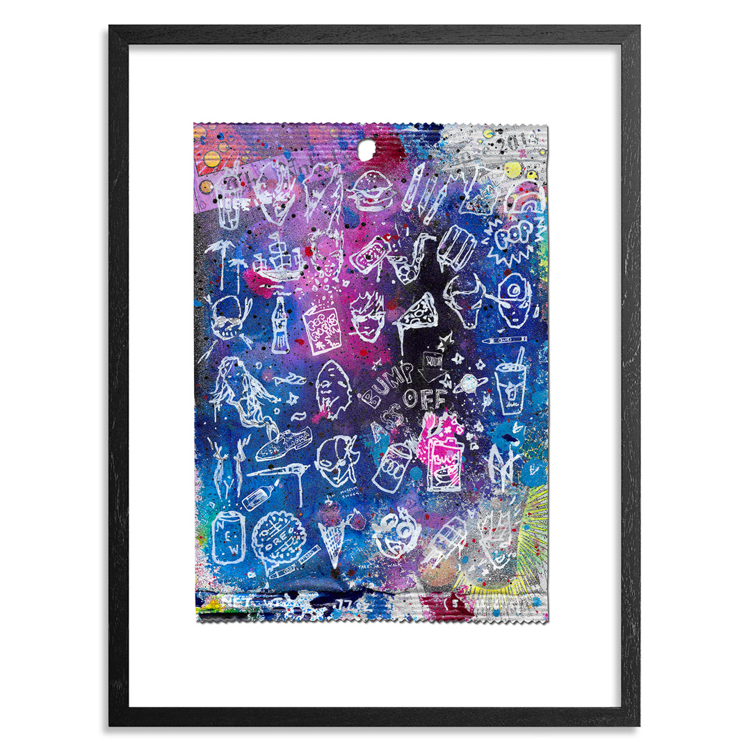 Gregory Siff Art Print - Super Cola Love Song - Standard Edition