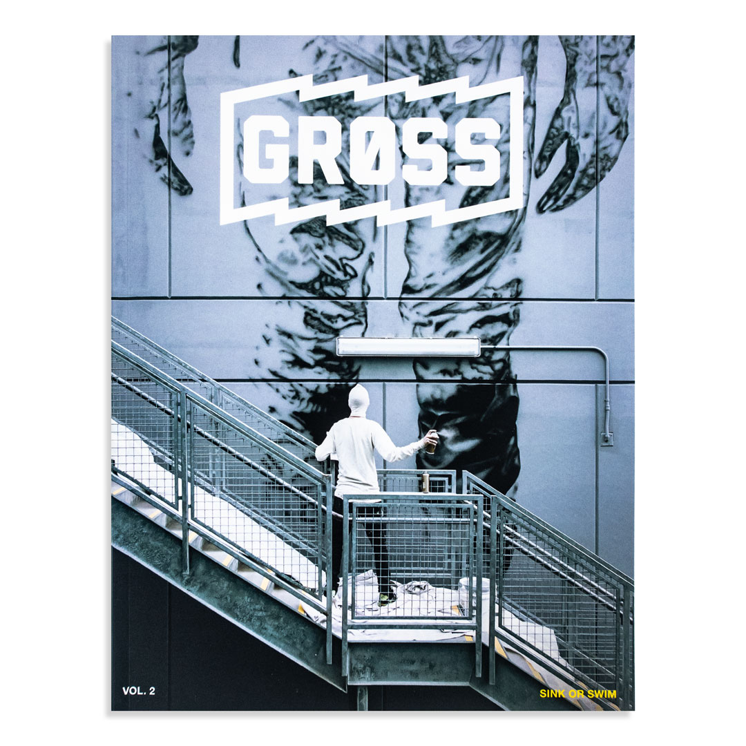 Gross Magazine Art - Vol 2: Sink Or Swim - Nothing Exists by Cyrcle Edition