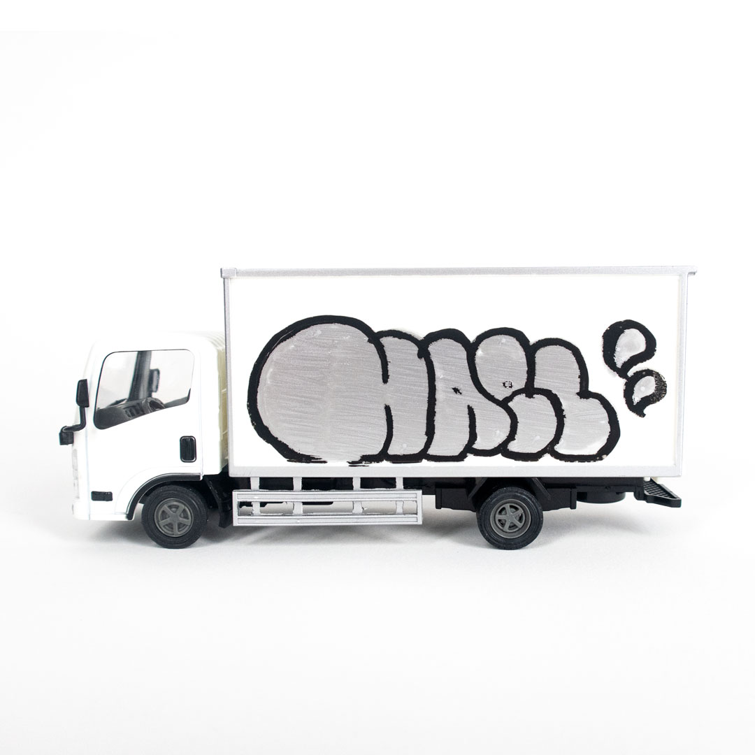 Hael Art - Delivery Truck - HAEL Throw Up