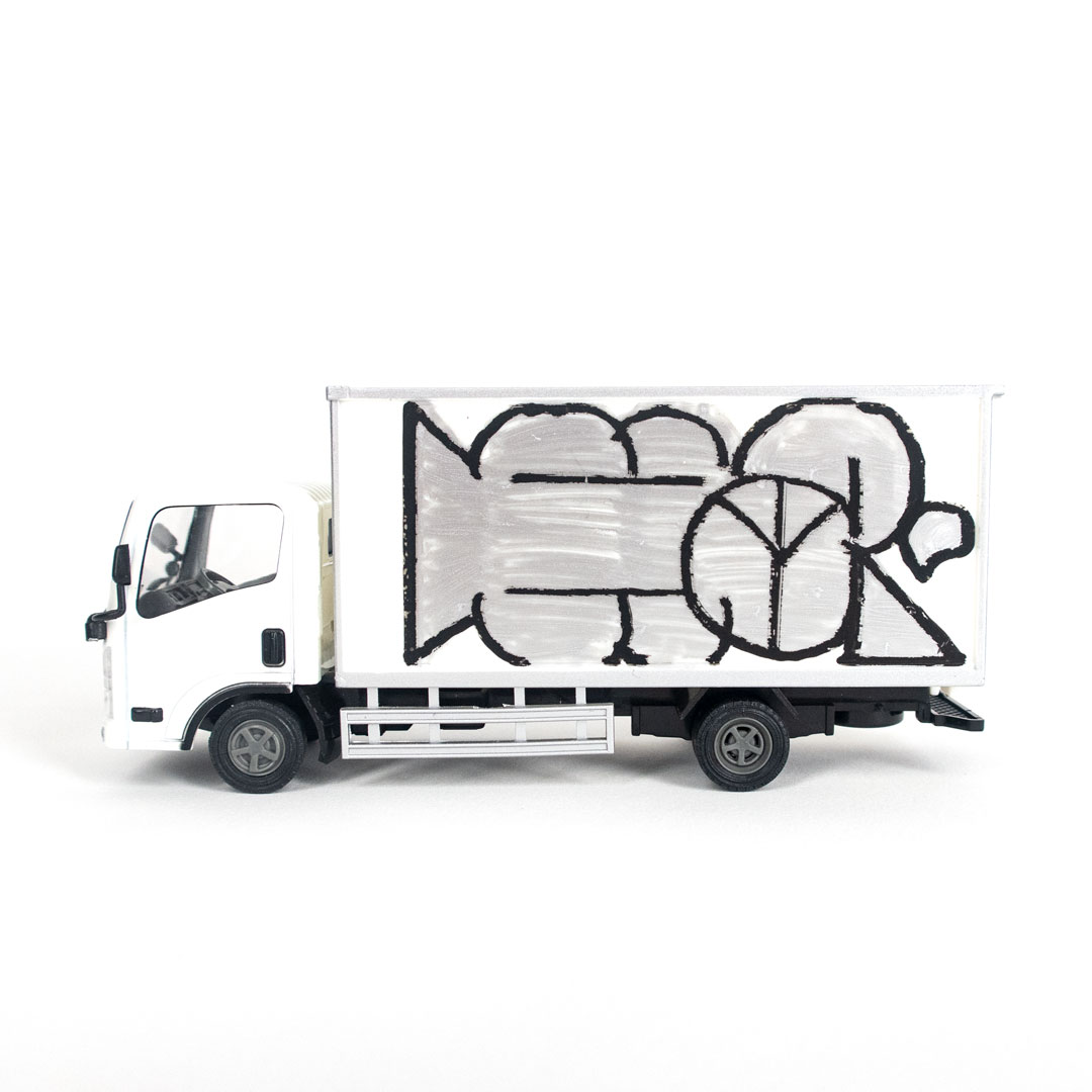 Hael Art - Delivery Truck - HA Throw Up