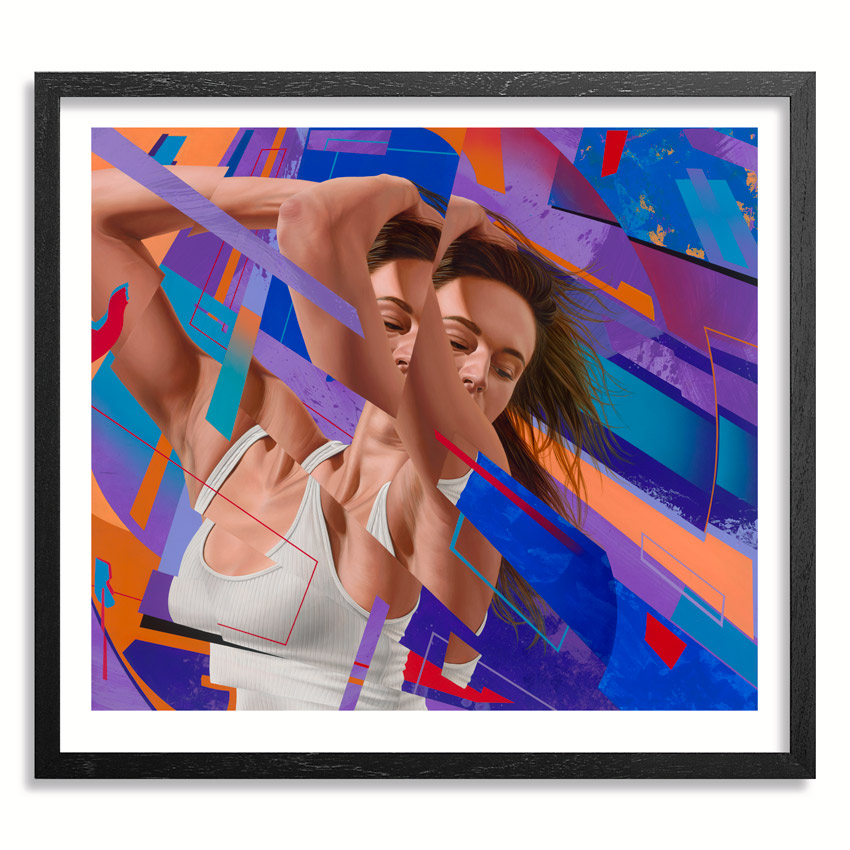 James Bullough Art Print - Oblivion - 34x31 Inch Edition