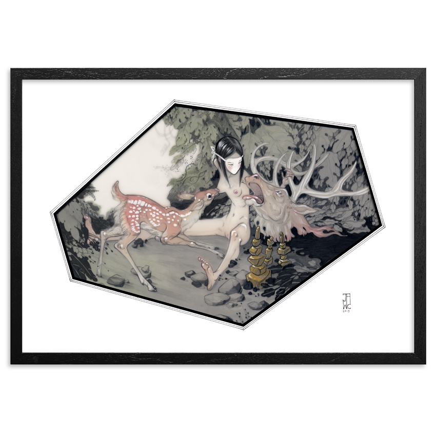 J.A.W. Cooper Art - Sanctuary - Framed