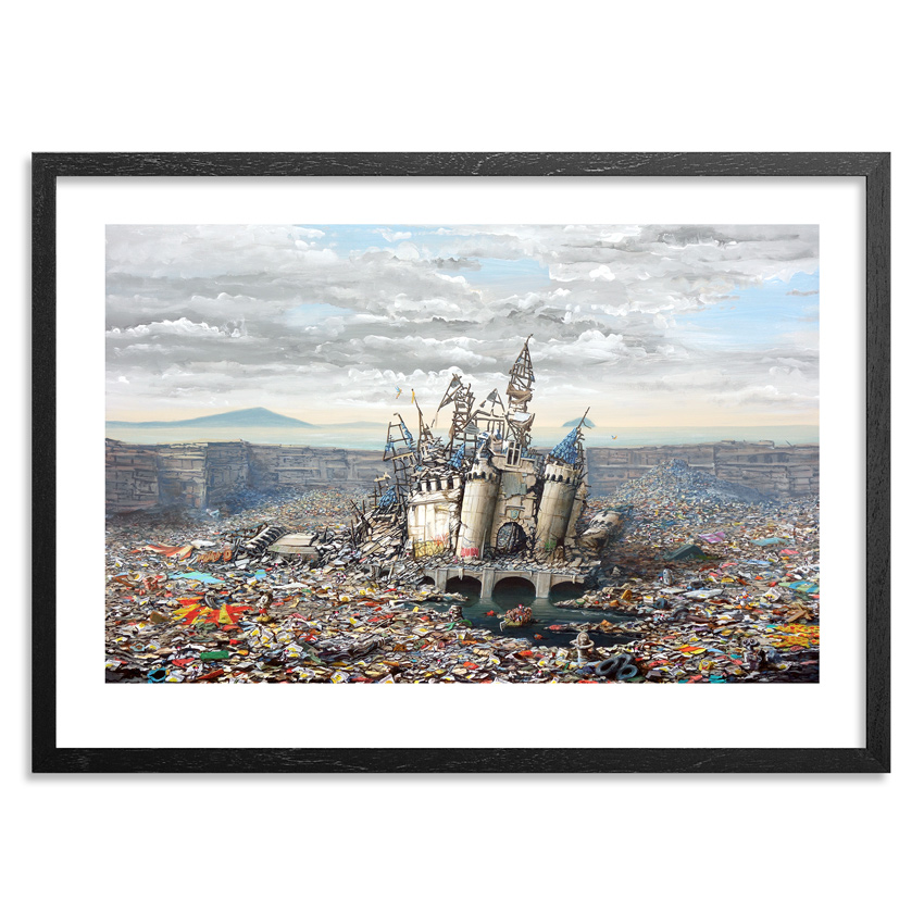 Jeff Gillette Art Print - Abandoned Dismaland
