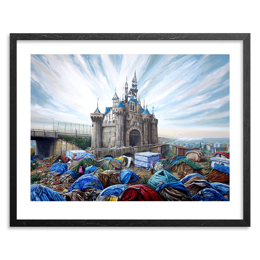 Jeff Gillette Art Print - Dismaland Calais - Limited Edition Prints