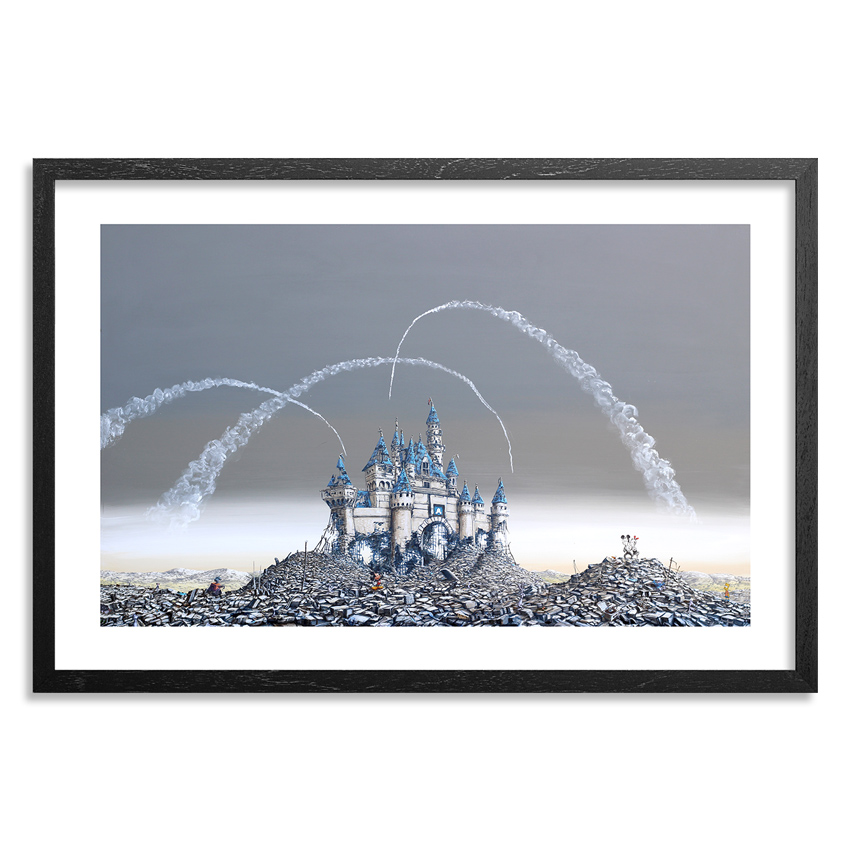 Jeff Gillette Art Print - Dismayland Castle