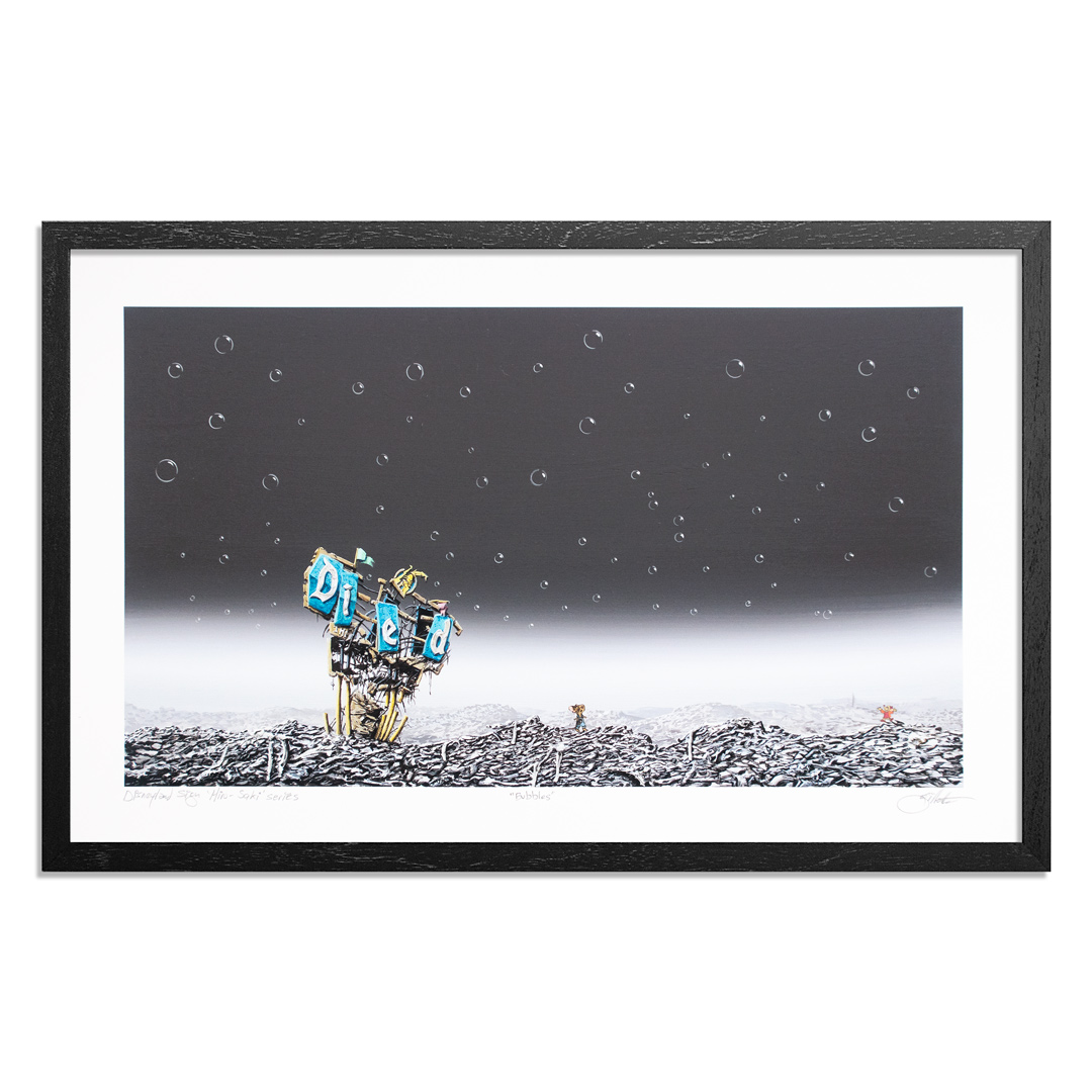 Jeff Gillette Art Print - Bubbles