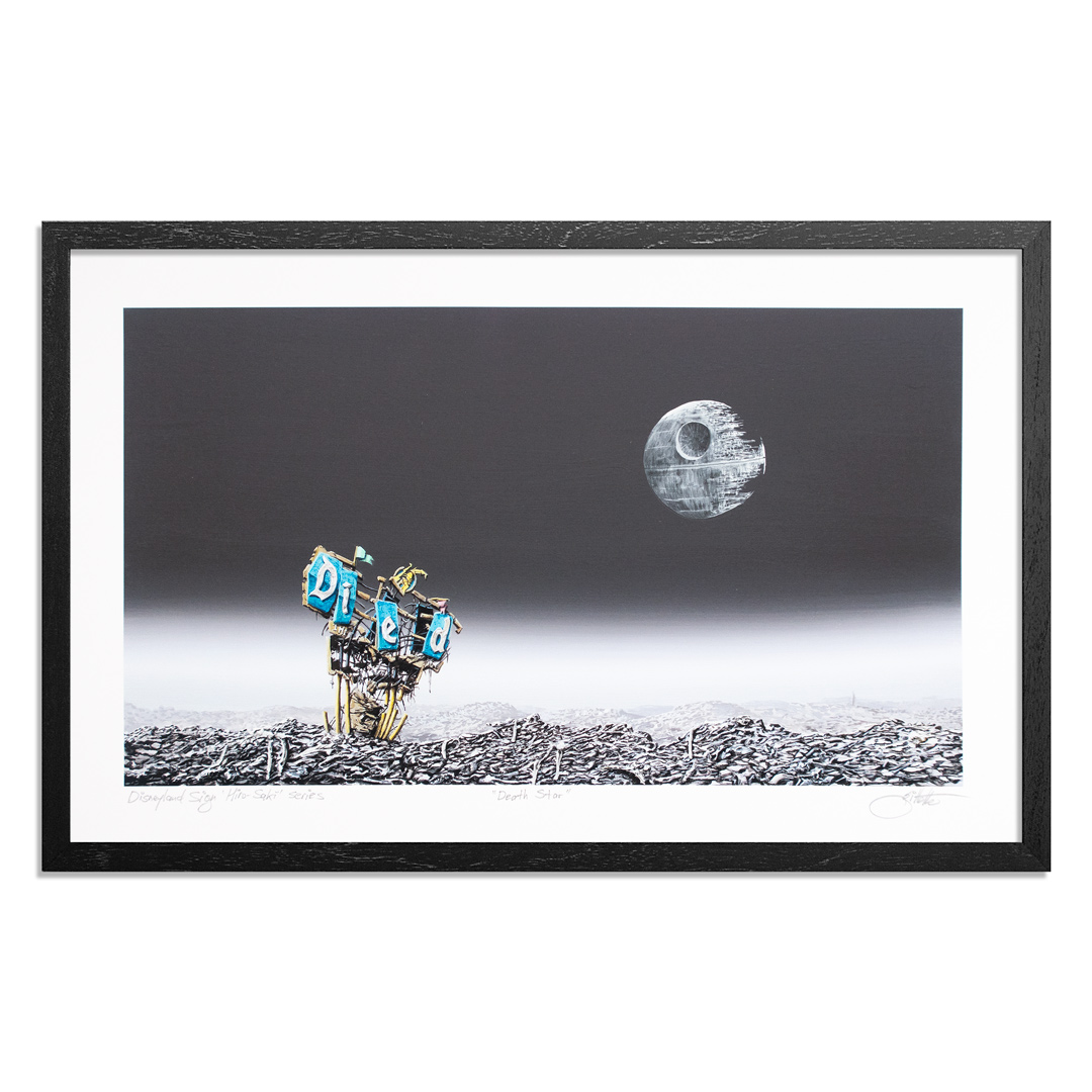 Jeff Gillette Art Print - Death Star