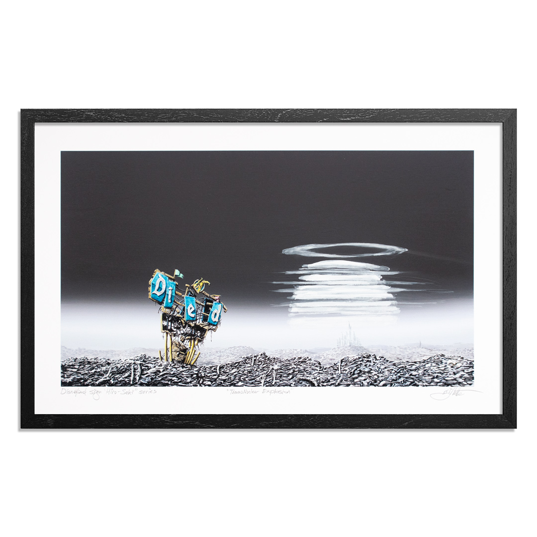 Jeff Gillette Art Print - Thermonuclear Explosion