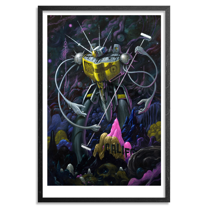 Jeff Soto Art Print - The Californian
