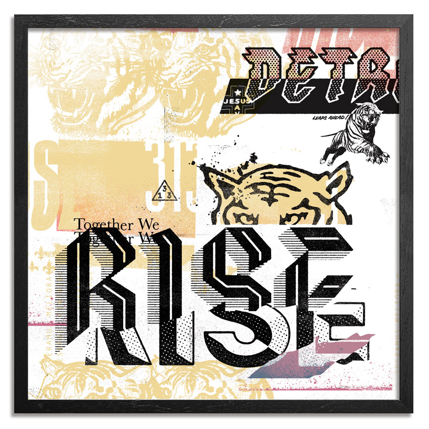 Jeremiah Britton Art Print - Together We Rise