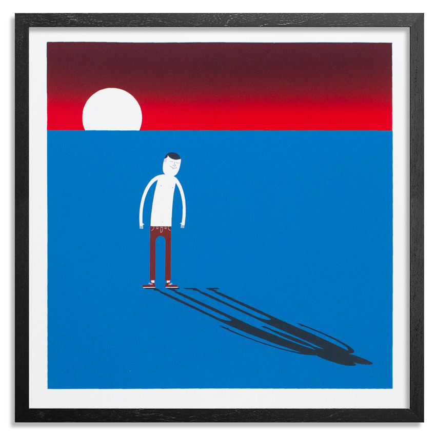 Jim Houser Art Print - You Are Never Alone - Blue Edition