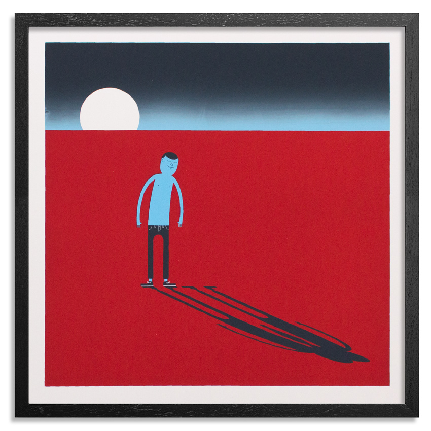 Jim Houser Art Print - You Are Never Alone - Red Edition