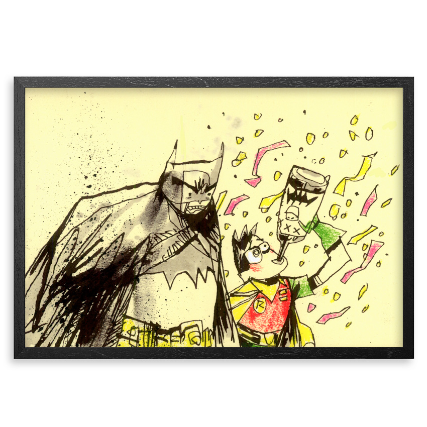Jim Mahfood Original Art - Dynamic Party Duo